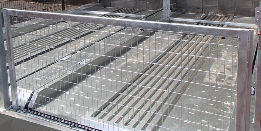 高耐食亜鉛メッキ鋼板(ZAM)採用のパレット