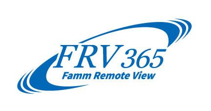 ファム機械式駐車装置常時遠隔監視システムFRV365ロゴ