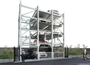 二多段式駐車装置「ファムパーク」