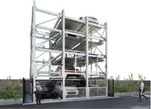 ファムパーク二多段式駐車装置